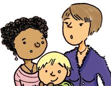 Marta, 35, Luisa, 36 und Felix, 2 1/2
